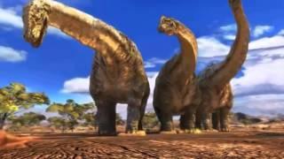 Мультик про динозавров Юрского периода