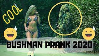 Most Funny Bushman Prank 2020 | Bushman 2020 | Bush scare prank