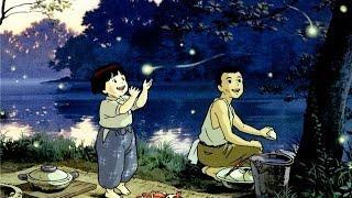 Могила Светлячков Японский мультфильм