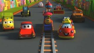 Боб,Поезд - Транспорт Приключения поезд мультфильм для детей Bob, The Train - Transport Adventure