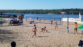 Пляжный волейбол, Чемпионат Украины, Женщины, финал. Прямая трансляция 8/05/2017