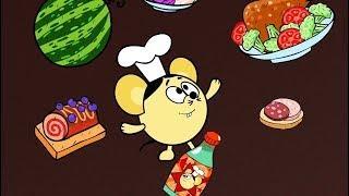 ❗❓Наука для детей - Еда и вкусовые рецепторы | Смешарики Пинкод - Мультиповар
