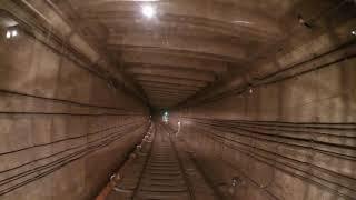 Метро от первого лица) скорость, туннель.