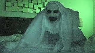 SCARY NUN PRANK ON SLEEPING HUSBAND