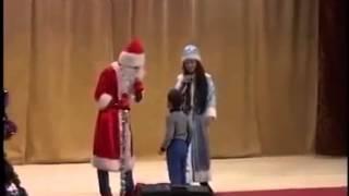 Мальчик послал Деда Мороза на три буквы Видео Ржач Смех Смешные видео про детей