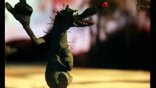 Серый волк & Красная Шапочка Прикольные Смешные мультики с песенками для детей Пластилиновый