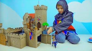 Даник и Конструкторы Playmobil для детей - Развивающее видео для ребёнка