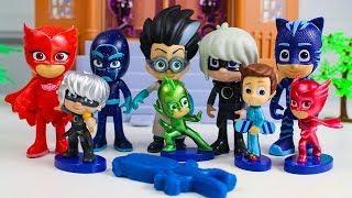 Герои в Масках Игрушки Сюрпризы Видео для детей Развивающие мультики PJ Masks Surprise