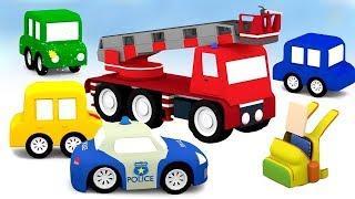 Лучшие Мультики для детей: 4 машинки | Сборник мультфильмов LIVE