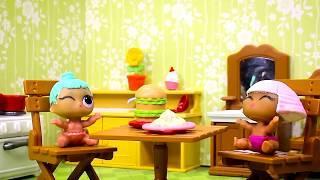 Куклы ЛОЛ Сборник №1 Смешные Мультфильмы с куклами ЛОЛ Мультики для детей