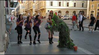 Craziest Screams Urla Più Pazze Bushman Prank Italy Mr Cespuglio