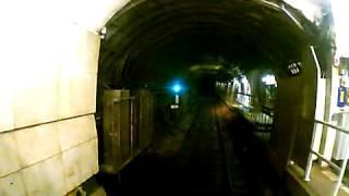 Видео из кабины машиниста метро