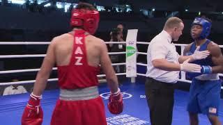 Казахстанский боксер довел американца до истерики на чемпионате мира