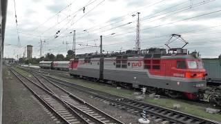 Россошь — Митрофановка из окна поезда
