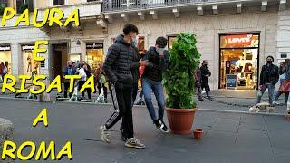 BUSHMAN PRANK: SCREAMS & LAUGHTER URLA E RISATA MR CESPUGLIO ROME, ITALY