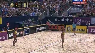 Пляжный волейбол Мировой тур 2011 Гштаад Финал Женщины