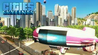 Cities: Skylines - Современный транспорт! 33