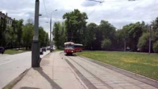 Поездка на трамвае МТТЧ по маршруту №23