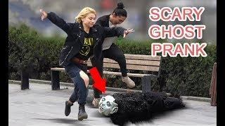 SCARY GHOST PRANK 2019 AWESOME REACTIONS