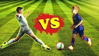Роналду-младший vs Тьяго Месси : кто круче играет в футбол в 2020?  Скиллы, голы | 3 раунда